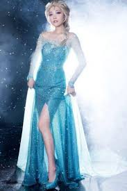 elsa costume womens frozen snow elsa fancy dress costume blue