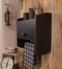primitive decorating ideas for bathroom primitive bathroom cabinet towel rack toilet paper storage