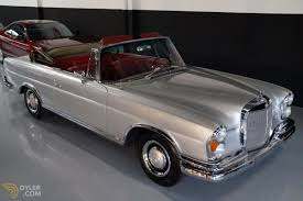 mercedes classic classic 1967 mercedes benz 250 se cabriolet roadster for sale
