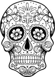 coloring pages for grown ups free coloring printable sugar skull