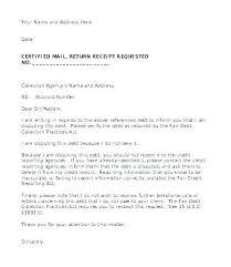 Letter Of Credit Validity debt dispute letter template noshot info