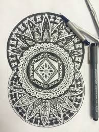 mix mandala and fijian masi patterns tattoo designs