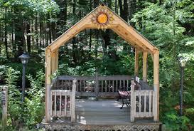 Cheap Fleur De Lis Home Decor Sunny Brook Cottages Cozy Pet Friendly Shaded Deck Overlooking The