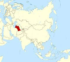 Large World Map Large Location Map Of Turkmenistan In Asia Turkmenistan Asia