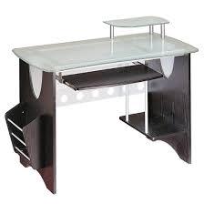 Black Desk Target by Tempered Glass Computer Desk Techni Mobili Target