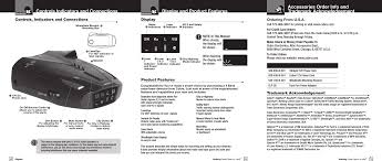 esd9290 radar detector user manual esd9270 manl indd cobra
