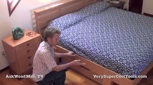 How To Build A Wooden Platform Bed by 01 How To Build A Bed U2022 Askwoodman Platform Bed Intro Youtube