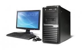 acer ordinateur de bureau pc de bureau acer veriton m2631 dc 4go 500go ecran 19 5 mytek