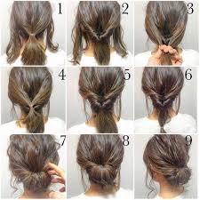 step bu step coil hairstyles top 10 messy updo tutorials for different hair lengths easy hair