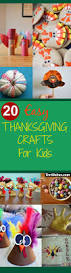 20 easy thanksgiving crafts for kids you should try thrillbites