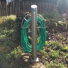 Hose Reel Solution For Yard And Garden Outdoor Faucet Extension Edelstahl Wasserzapfstelle Zapfsäule Gartenzapfstelle Wassersäule