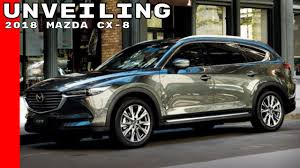 buy mazda suv 2018 mazda cx 8 unveiling youtube