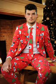 christmas suits why wear an christmas sweater when you can wear one of these