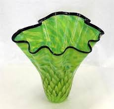 Wall Mounted Glass Flower Vases Hand Blown Glass Vase Ebay