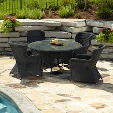 Resin Patio Dining Sets - wicker patio dining set forever patio hampton 8person resin