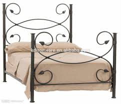 bedroom design iron twin bed white metal bed frame queen cheap