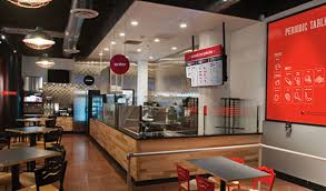 Pizza Restaurant Interior Design Pie Five Pizza Co