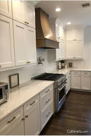 shaker style kitchen cabinets white shaker style kitchen with stained shaker style
