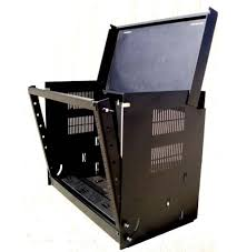 8u wall mount cabinet 120040bk 8u wall mount drop front cabinet rack teledata express