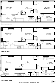 nyc brownstone floor plans floor plans ts design visualization