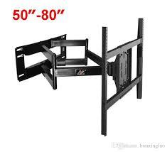 nb sp5 50 80 flat panel led lcd tv wall mount full motion heavy