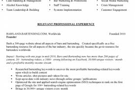 Publications On Resume Example by Bar Manager Resume Sample Resume Examples Military Resume Template