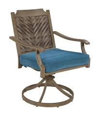 Swivel Patio Dining Chairs Bay Isle Home Goufes Swivel Patio Dining Chair With Cushion