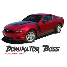 2010 mustang models ford mustang dominator decals hockey stripes side