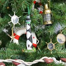 handcrafted nautical decor cape lookout lighthouse tree