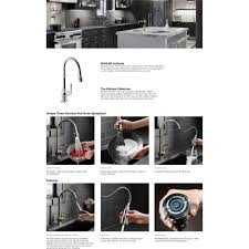 kohler k 99259 vs artifacts vibrant stainless steel pullout spray