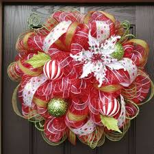 white deco mesh how to make a mesh wreath step by step tutorial with pictures