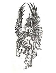 what are some cool pegasus tattoo designs tattoos quora