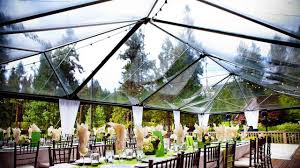 clear tent rentals 5 wedding rentals you can t live without