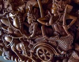 ubud bali wood carvers dave photo