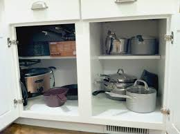 Blind Corner Storage Systems Come Look Inside Our Kitchen Cabinets Andrea Dekker