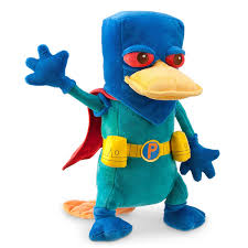 perry the platypus halloween costume amazon com disney perry mission marvel plush 13 1 2 u0027 u0027 toys u0026 games