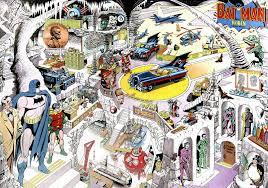 Dc Comics Map No Man U0027s Land Gotham Archives