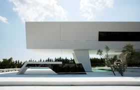 ultra modern houses modern facade of an impressive ultra modern house in athens