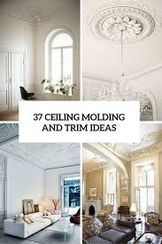 Wall Molding by 37 Ceiling Trim And Molding Ideas To Bring Vintage Chic Shelterness