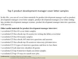 top 5 product development manager cover letter samples 1 638 jpg cb u003d1434966471