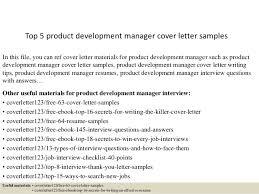 product development manager resume sample top 5 product development manager cover letter samples 1 638 jpg cb u003d1434966471