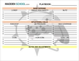 get your free madden 17 play call sheet madden