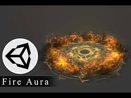 unity effects tutorial fire aura effect tutorial in unity game fx pinterest unity