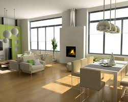 Modern Laminate Flooring Internal Home Design Amusing Modern Green Interior Design Laminate
