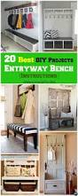 Storage Hallway Bench by Best 20 Entryway Bench Storage Ideas On Pinterest Entry Storage
