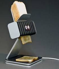 designer toaster probably everyone who likes a toast for breakfast has at some