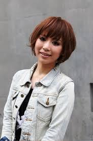 short japanese brown haircut