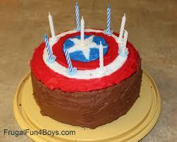 captain america cakes captain america birthday cake