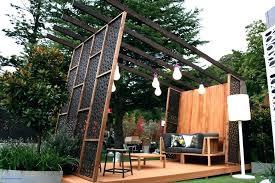 Backyard Privacy Ideas Cheap Backyard Privacy Screens Patio Privacy Screen Best Outdoor Privacy
