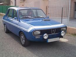 renault 12 gordini location renault 12 gordini de 1974 pour mariage var